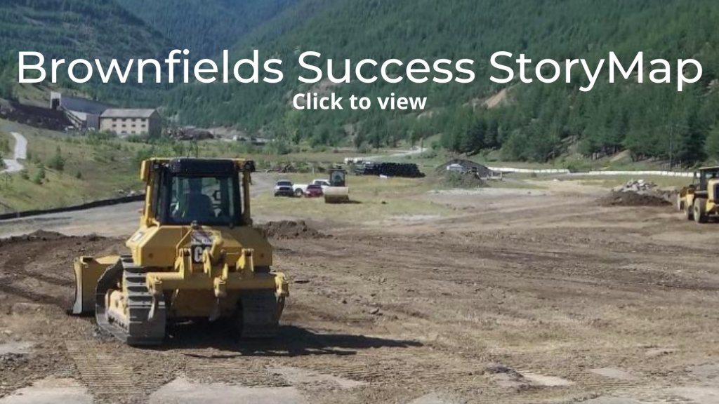 Click the image to view the brownfields success stories storymap.