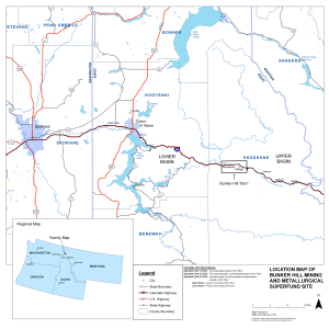 Bunker Hill Mining and Metallurgical Superfund Site