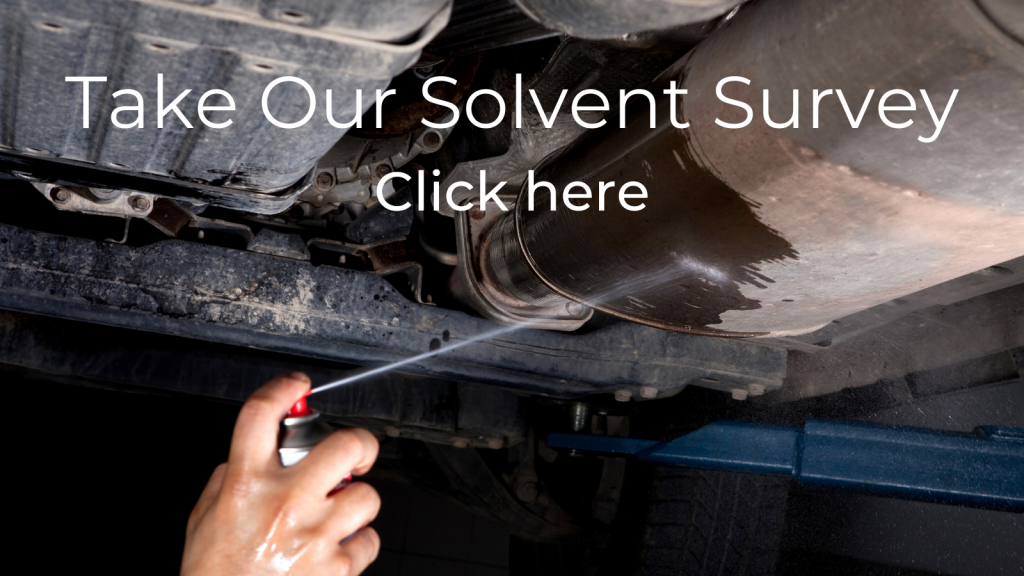 Take Our Solvent Survey Click here
